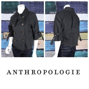 Nautical Anchor Double Breasted Spring Jacket
